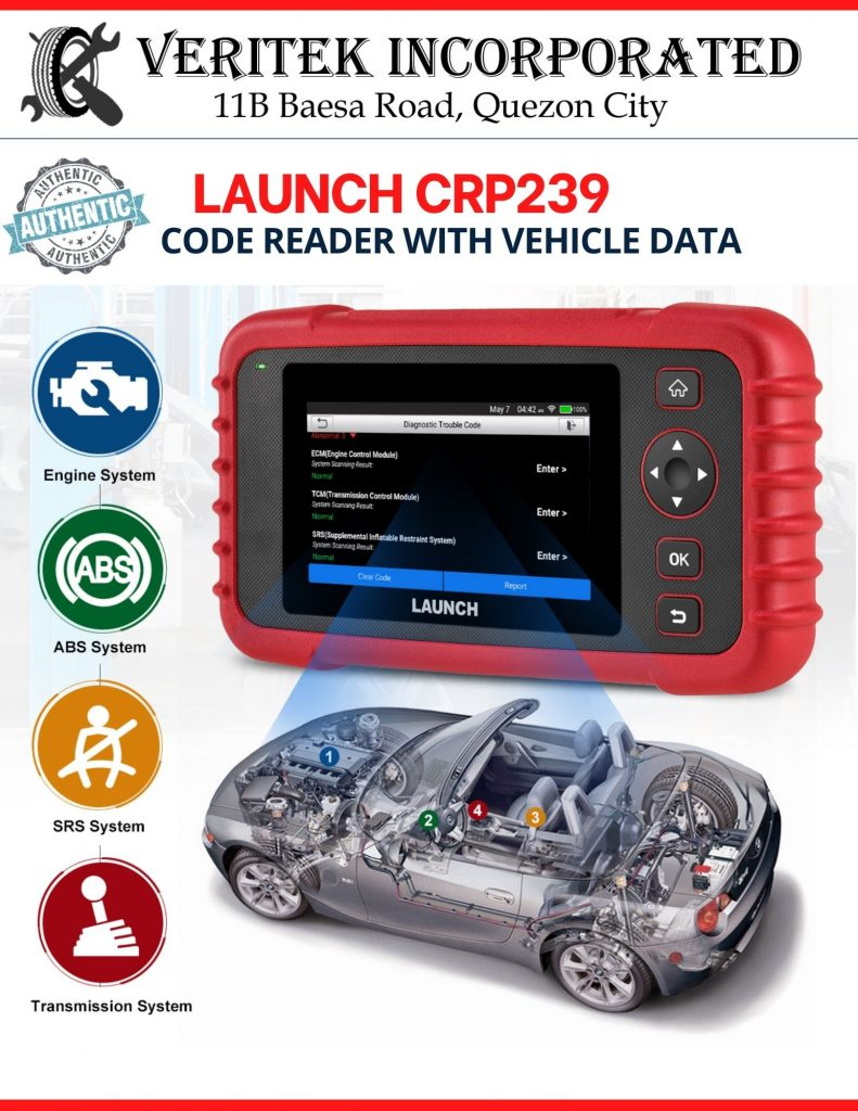 Launch CRP239 Code Reader